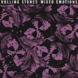 The Rolling Stones : Mixed Emotions - UK 1989
