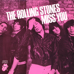 The Rolling Stones : Miss You - UK 1978