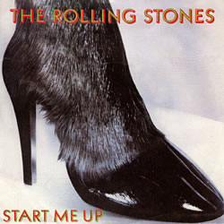The Rolling Stones : Start Me Up - UK 1981