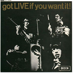 The Rolling Stones : Got Live If You Want It! - UK 1965