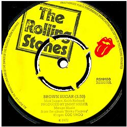 The Rolling Stones : Brown Sugar - UK 1971