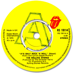 The Rolling Stones : It's Only Rock'n'Roll - UK 1974