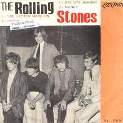 The Rolling Stones : Bye Bye Johnny - Uruguay 1965