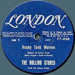 The Rolling Stones : Honky Tonk Women - Uruguay 1969