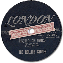 The Rolling Stones : Paint It, Black - Uruguay 1966