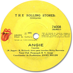 The Rolling Stones : Angie - Uruguay 1973