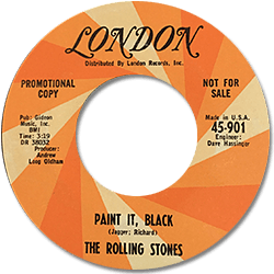 The Rolling Stones : Paint It, Black - USA 1966
