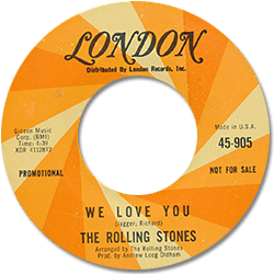 The Rolling Stones : We Love You - USA 1967