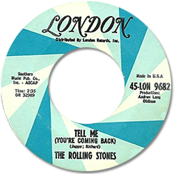 The Rolling Stones : Tell Me - USA 1970