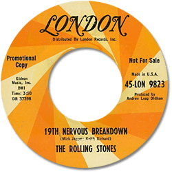 The Rolling Stones : 19th Nervous Breakdown - USA 1966