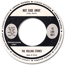 The Rolling Stones : Not Fade Away - USA 1964