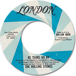 The Rolling Stones : As Tears Go By - USA 1973
