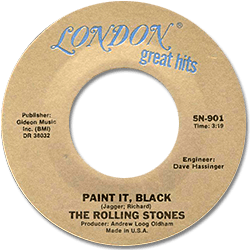 The Rolling Stones : Paint It, Black - USA 1978