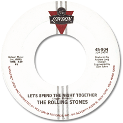 The Rolling Stones : Let's Spend The Night Together - USA 1987