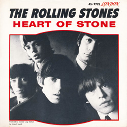 The Rolling Stones : Heart Of Stone - USA 1965