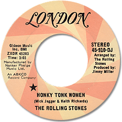 The Rolling Stones : Honky Tonk Women - USA 1969