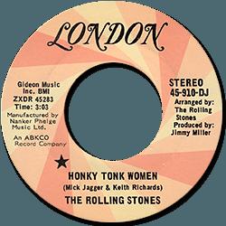 The Rolling Stones : Honky Tonk Women - USA 1969