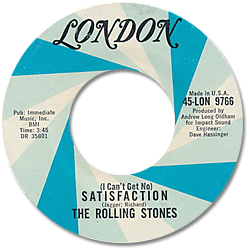The Rolling Stones : Satisfaction - USA 1965