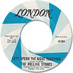 The Rolling Stones : Let's Spend The Night Together - USA 1967
