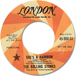 The Rolling Stones : She's A Rainbow - USA 1967
