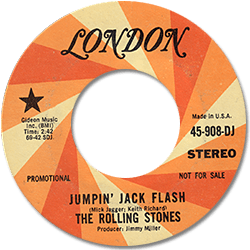 The Rolling Stones : Jumpin' Jack Flash - USA 1968
