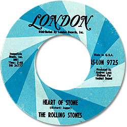 The Rolling Stones : Heart Of Stone - USA 1972