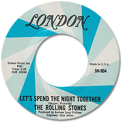 The Rolling Stones : Let's Spend The Night Together - USA 1978
