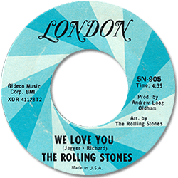 The Rolling Stones : We Love You - USA 1973