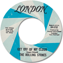 The Rolling Stones : Get Off Of My Cloud - USA 1973