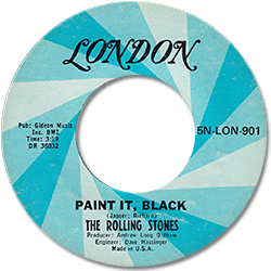 The Rolling Stones : Paint It, Black - USA 1973