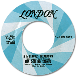The Rolling Stones : 19th Nervous Breakdown - USA 1973