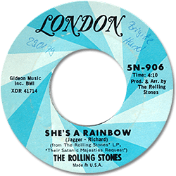 The Rolling Stones : She's A Rainbow - USA 1973