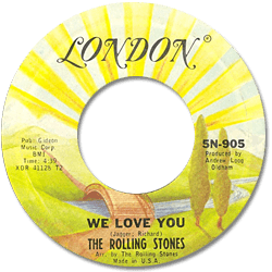 The Rolling Stones : We Love You - USA 1978