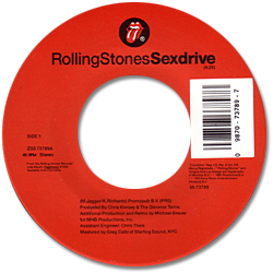 The Rolling Stones : Sex Drive - USA 1991
