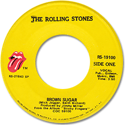 The Rolling Stones : Brown Sugar - USA 1972