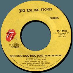 The Rolling Stones : Doo Doo Doo Doo Doo (Heartbreaker) - USA 1973