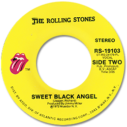 The Rolling Stones : Tumbling Dice - USA 1972