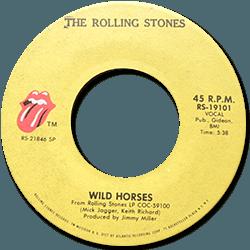 The Rolling Stones : Wild Horses - USA 1973