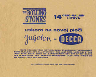 The Rolling Stones : Have You Seen Your Mother, Baby, Standing In The Shadow ? - Yugoslavia 1966
