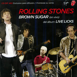 The Rolling Stones - Brown Sugar (Live)  - Virgin DIF 463 Argentina CDS