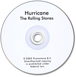 The Rolling Stones - Hurricane -   USA CDS