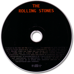 The Rolling Stones - Black Limousine + 1 - Virgin SA 3693 France CDS